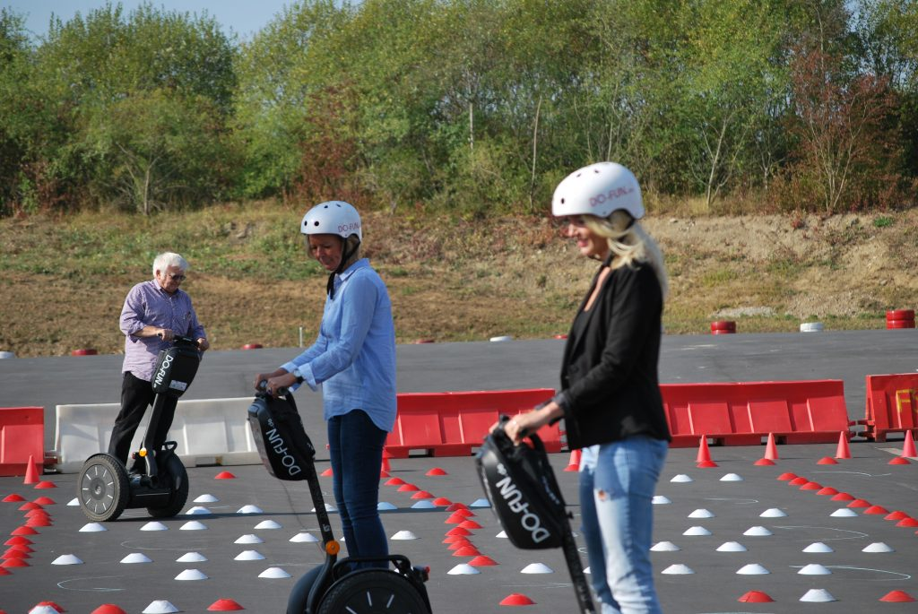 Teambuilding Segway Event Firma