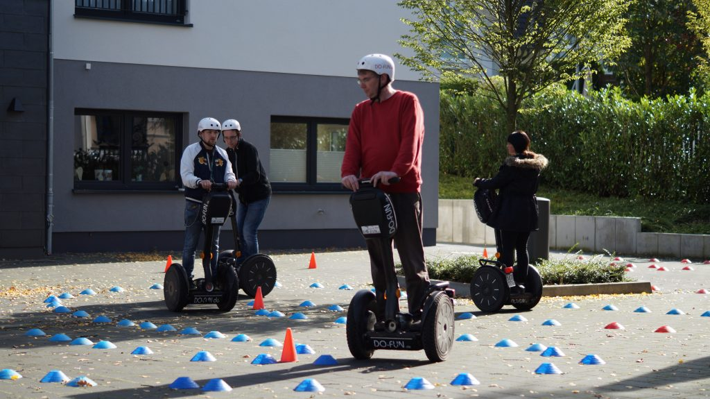 Segway Event in Dortmund